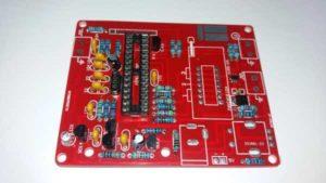 Впаиваем DIP-панель в GM328