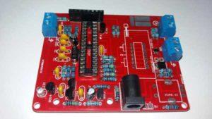 ZIF панель для подключения измеряемой радиодетали