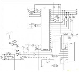 GM328 троанзистор тестер - схема устройства