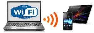 Раздаем WiFi с ноутбука Win 7, 8, 10