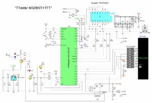 GM328 многофункциональный тестер радиодеталей — сборка