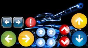 Машинка на arduino и Bluetooth — интерфейс управления на планшете android.