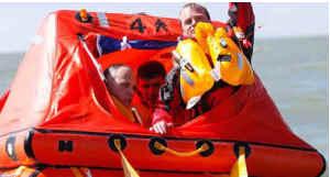 Life raft - спасательный плот (правильные инструкции)